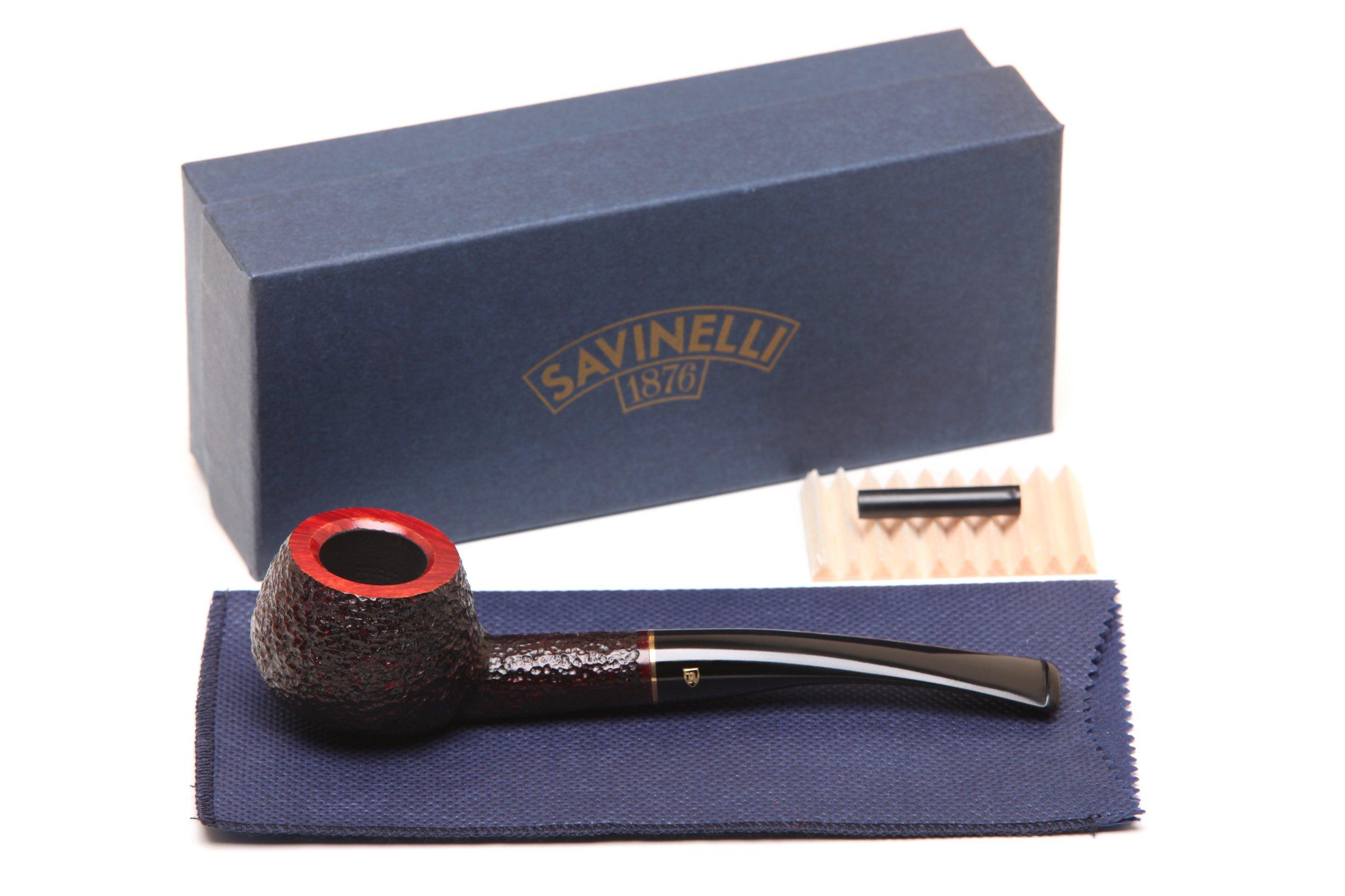 Savinelli Roma 315 KS Black Stem Tobacco Pipe