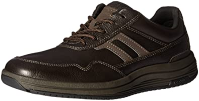 Rockport Men's Edmund Fashion Sneaker- Chocolate-6.5 W