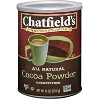 Chatfield's All Natural Cocoa Powder - Unsweetened - 10 oz