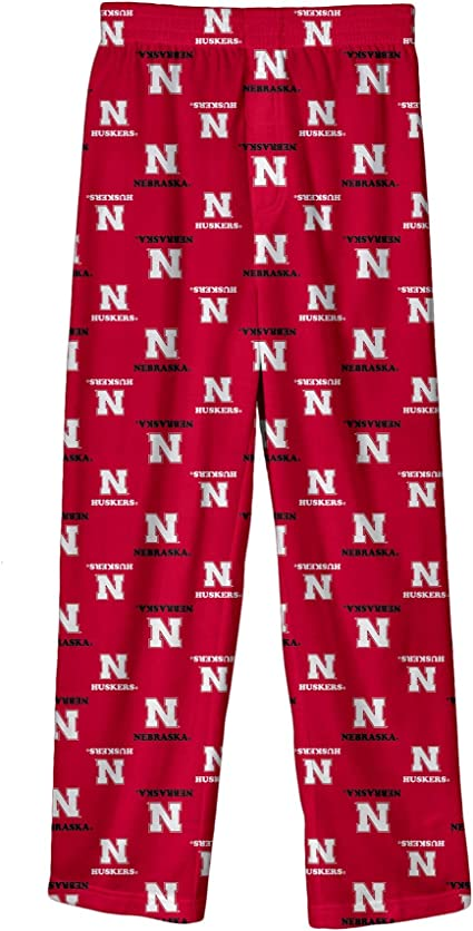 Outerstufff Boy/'s Youth Nebraska Huskers Pajamas