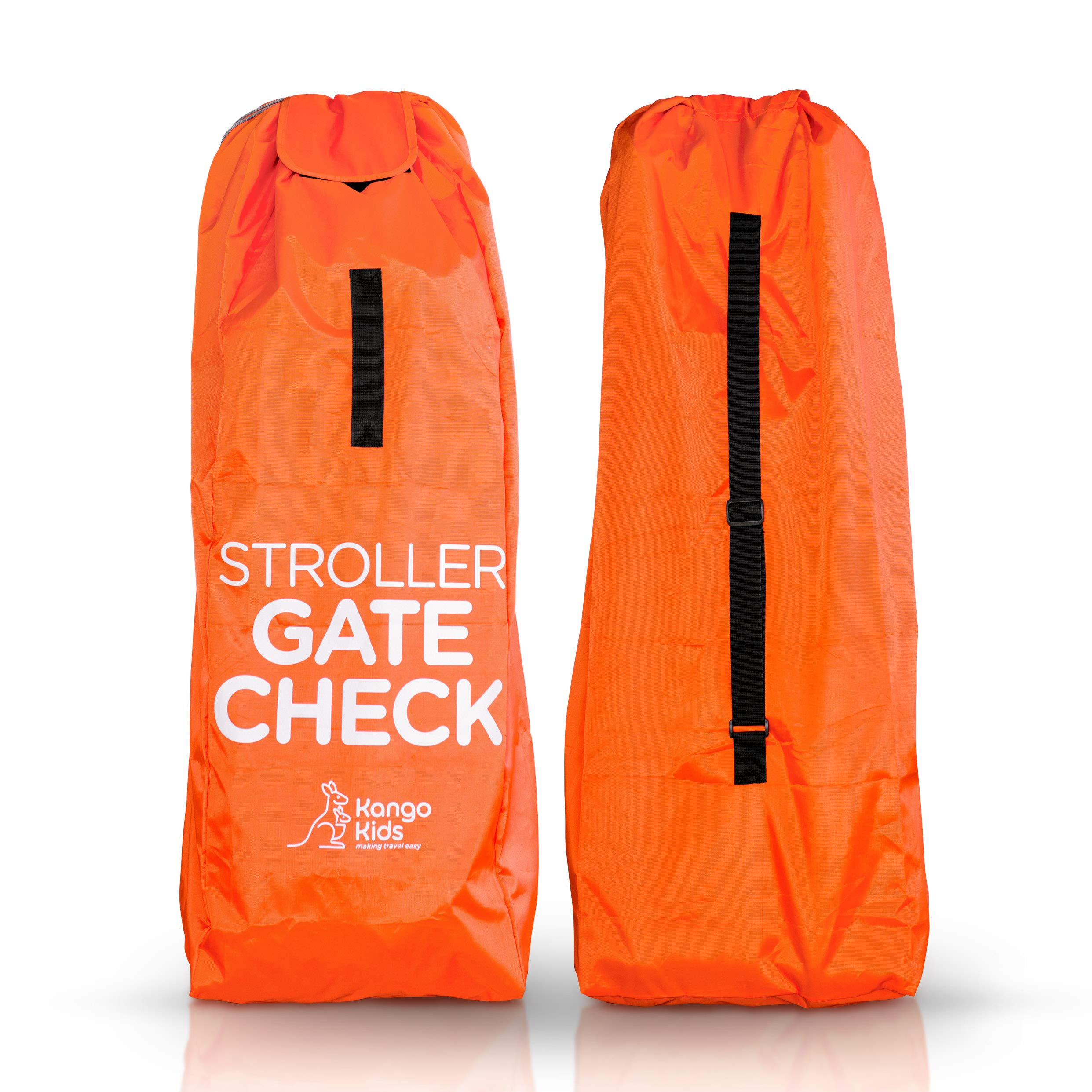 Stroller Travel Bag -Make Travel Easier & Save Money. Baby Gate Check Bags for Air Travel - Protect your Child's Umbrella Strollers from Germs & Damage. Durable, Waterproof and Easy to Carry. Kango