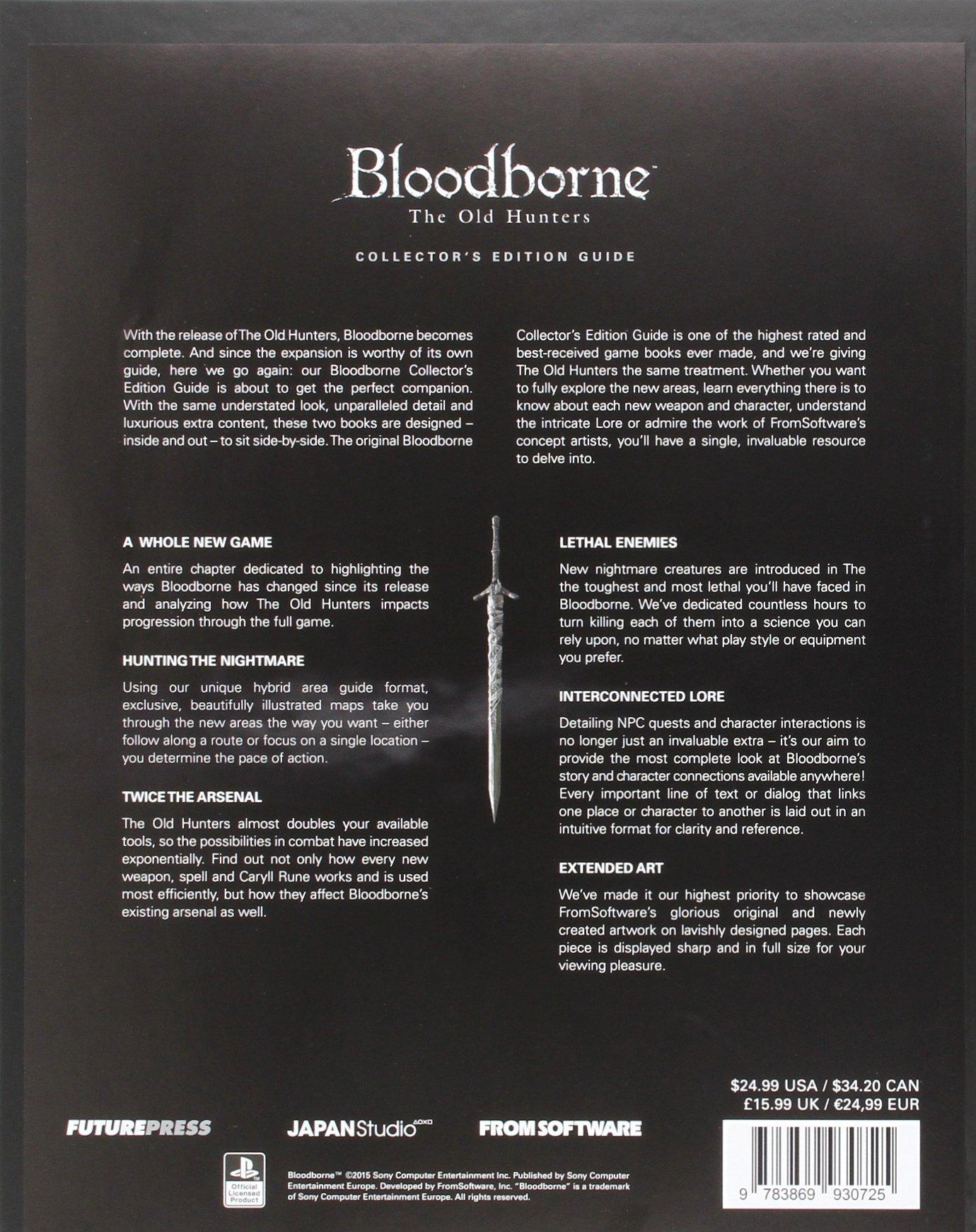 Bloodborne The Old Hunters Collectors Edition Guide Future Press