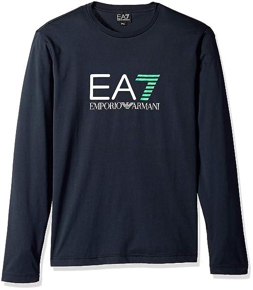 Amazon.com: EA7 Emporio Armani Active – Camiseta logotipo de ...