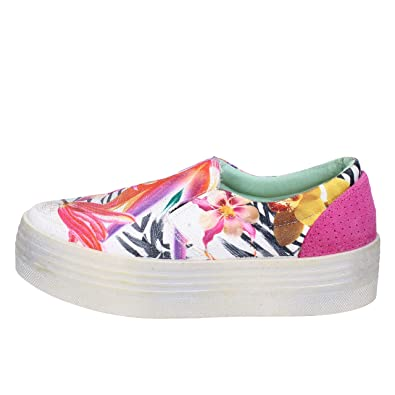 BEVERLY HILLS POLO CLUB Slip on Mujer Textil Multicolor: Amazon.es ...