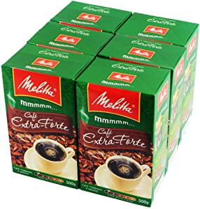 Melitta Extra Strong Roasted Coffee - 17.6 oz - (PACK OF 06)