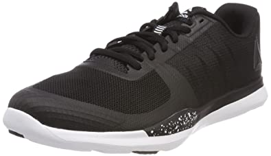 various colors a8347 2dd52 Reebok Men s Sprint Tr Fitness Shoes, (Black White 0), 7 UK