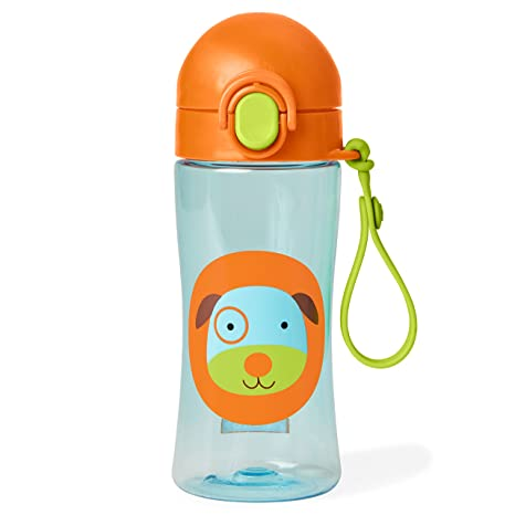 Bee Skip Hop Zoo Lock-Top Sports Bottle Yellow