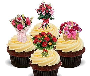Blumen Schone Blumenstrausse Essbare Kuchen Dekorationen