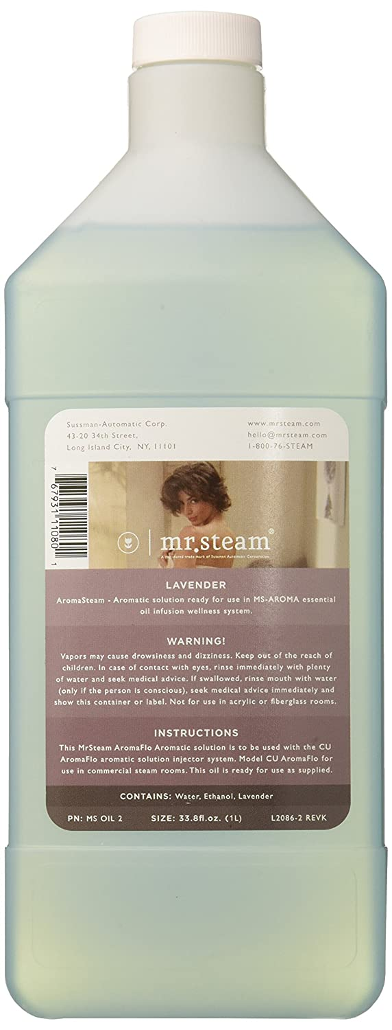 Mr. Steam MS OIL1 AromaStream Oil 33oz. Bottle for Use with AromaStream Pump, Eucalyptus