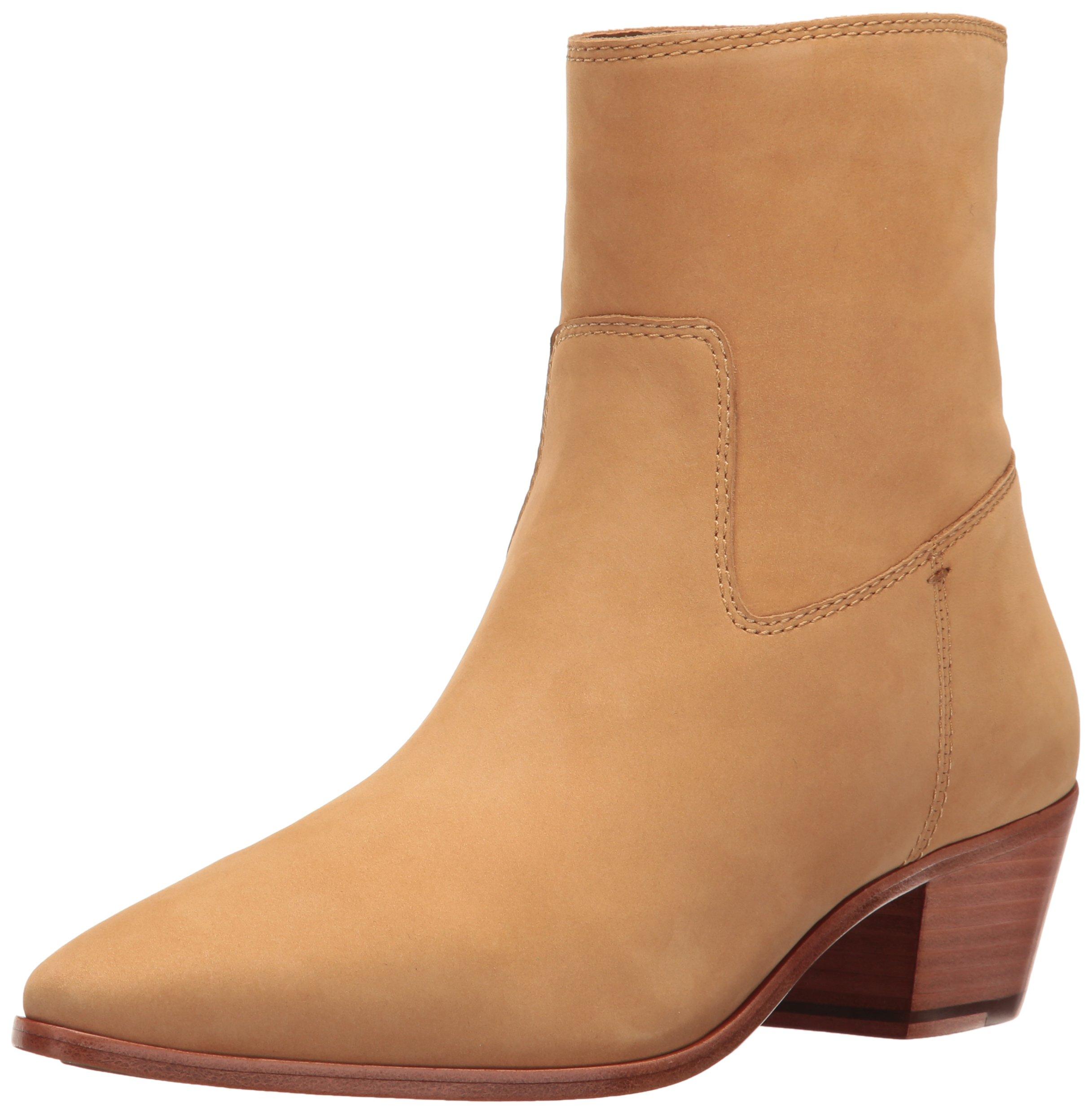 FRYE Women's Ellen Short Western Boot, Sand, 7.5 M US