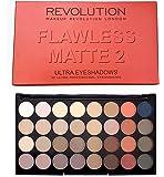 Makeup Revolution Ultra 32 Eyeshadow Palette All Matte Flawless Mattes 2
