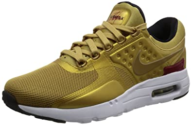 f4a02391e860 Nike Nike Air Max Zero Qs - flt gold varsity red-white-bla  Amazon ...