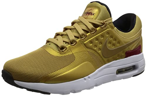 buy popular b6891 d2c91 Nike Air Max Zero Quickstrike Sneaker Gold 789695 700, Size 42