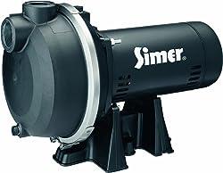 Simer 3415P 1-1/2 HP Spinkler System Pump