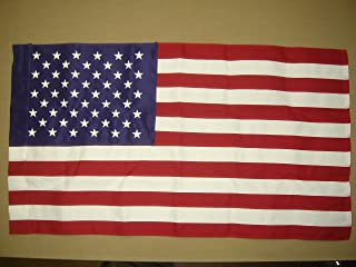 product image for Annin Flagmakers Model 2702 American 2-1/2x4 ft Polyester Tough Tex, 100% Made in USA with Sewn Stripes, Embroidered Stars and Pole Sleeve Flag