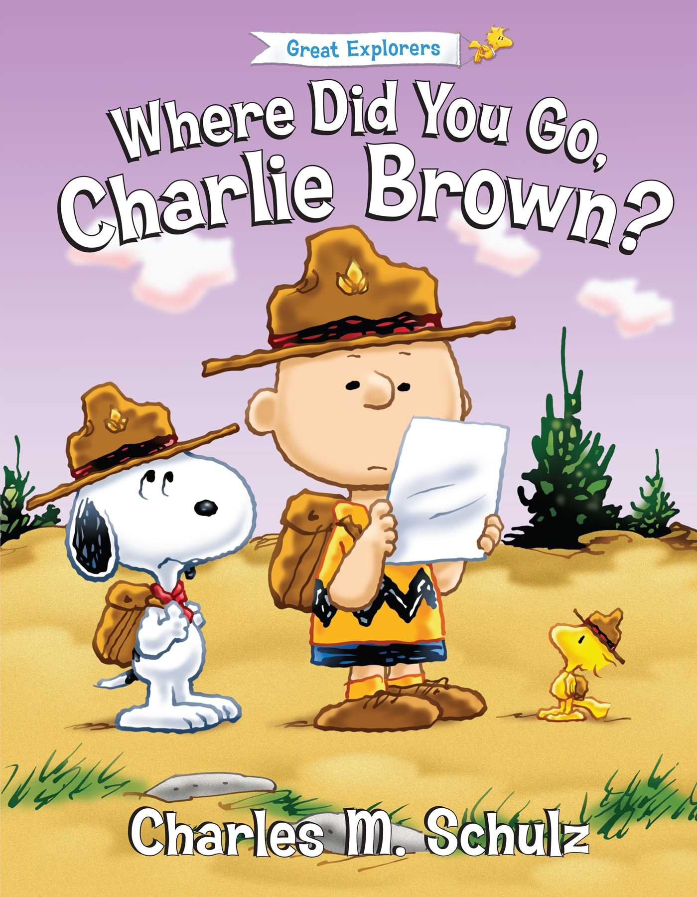 Where Did You Go Charlie Brown? (Peanuts Great American Adventure)