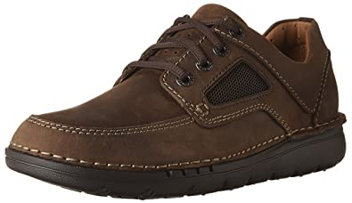 a2191f67aa6 CLARKS Men s Unnature Time Dark Brown Leather 8 ...