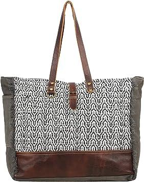 Amazon Com Myra Bag Elliptical Upcycled Canvas Leather Weekender Bag S 1553 Последние твиты от myra bag (@myra_bag). amazon com