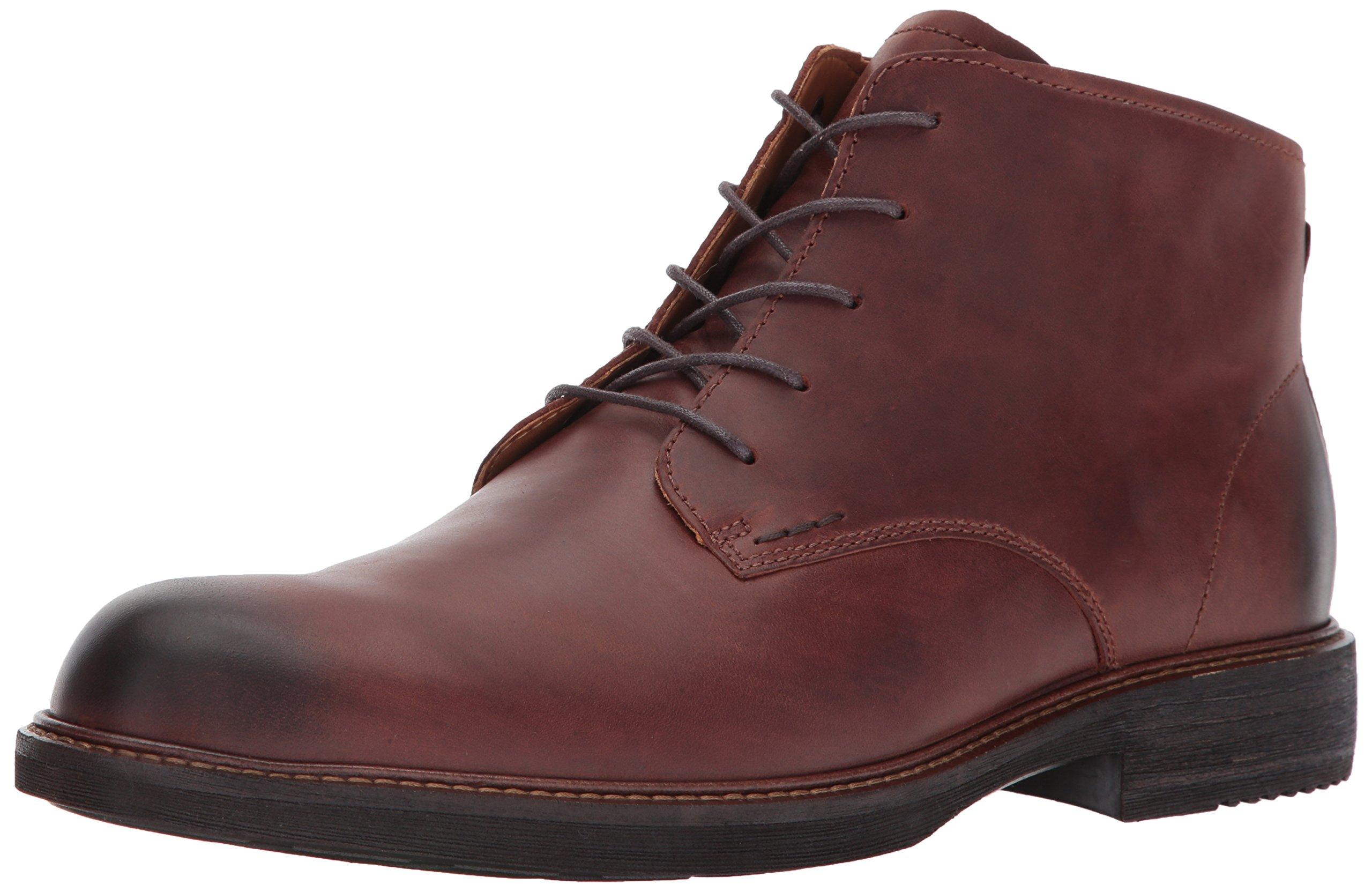 ECCO Men's Kenton Plain Toe Chukka Boot, Mink, 45 EU/11-11.5 M US by ECCO