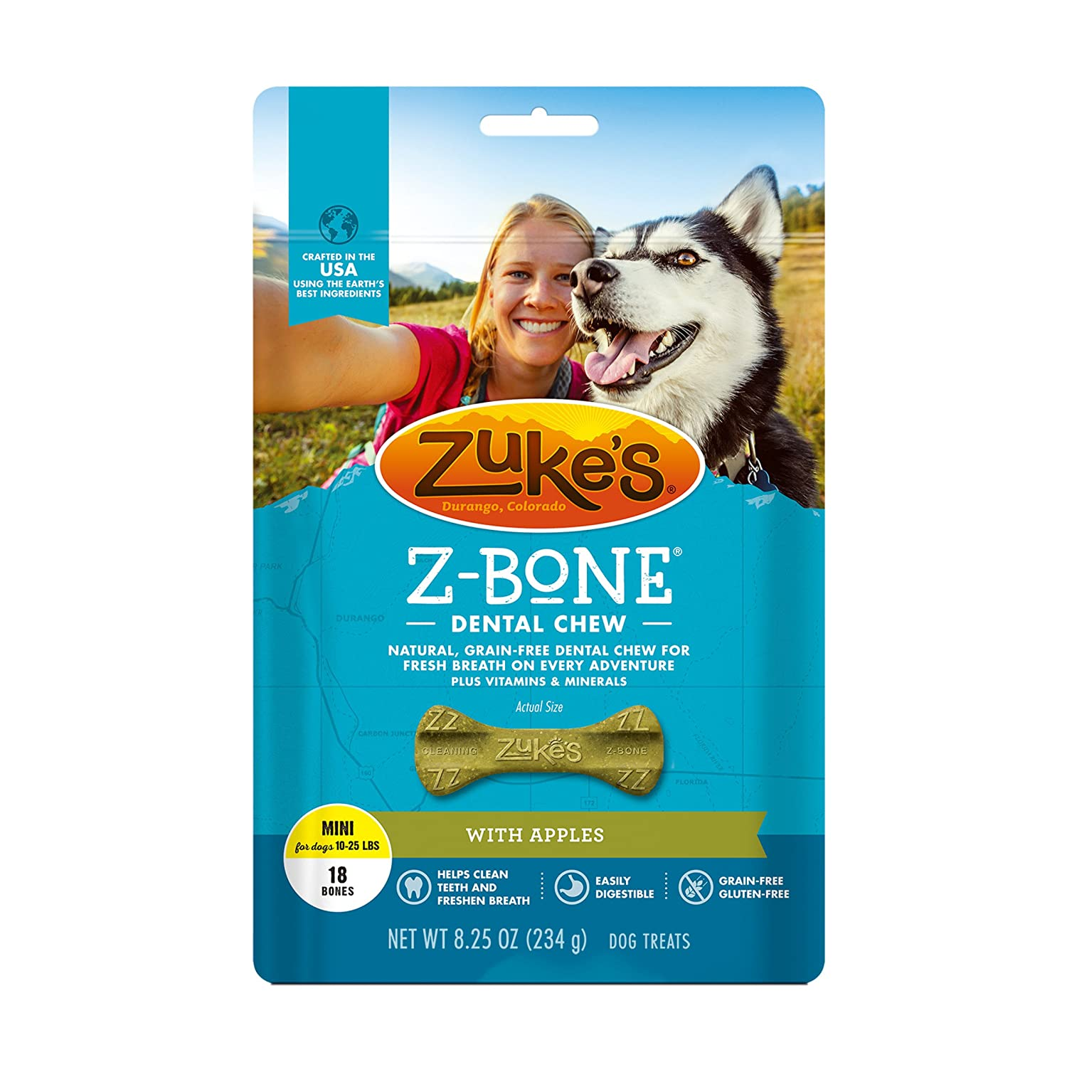 Zuke s Z-Bone Dental Chew Dog Treats