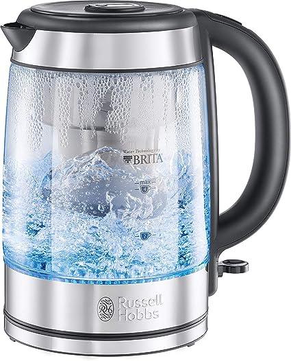 Bouilloire Électrique New-White Tea Pot Blanc Brita 120011 Filtre Carafe 3000 W