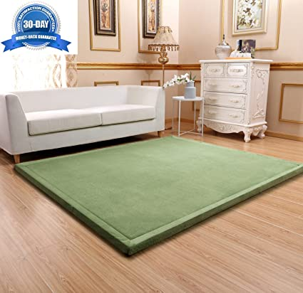 amazon com maxyoyo baby play mat floor mat large rug for living rh amazon com large memory foam rugs for living room uk