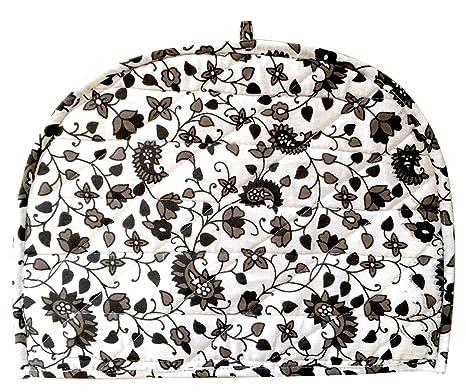AUNERCART Black /& White Tea Cosy Indian Mandala Tea Cozies Home Decorative Cotton Creative Tea Pot Cover Tea Cozy