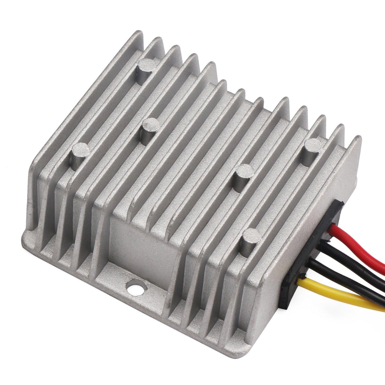 12V to 12V 4A 48W Power Converter Regulator DC WaterProof DC//DC STEP UP DOWN