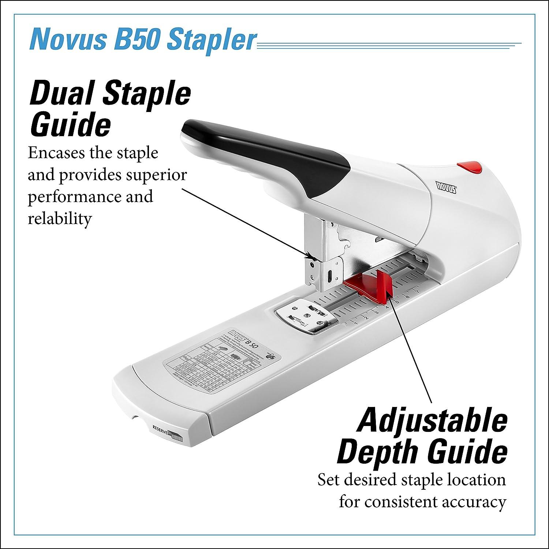 Novus 942452 - Grapadora para gruesos gruesos para B50, 140 hojas de9c95