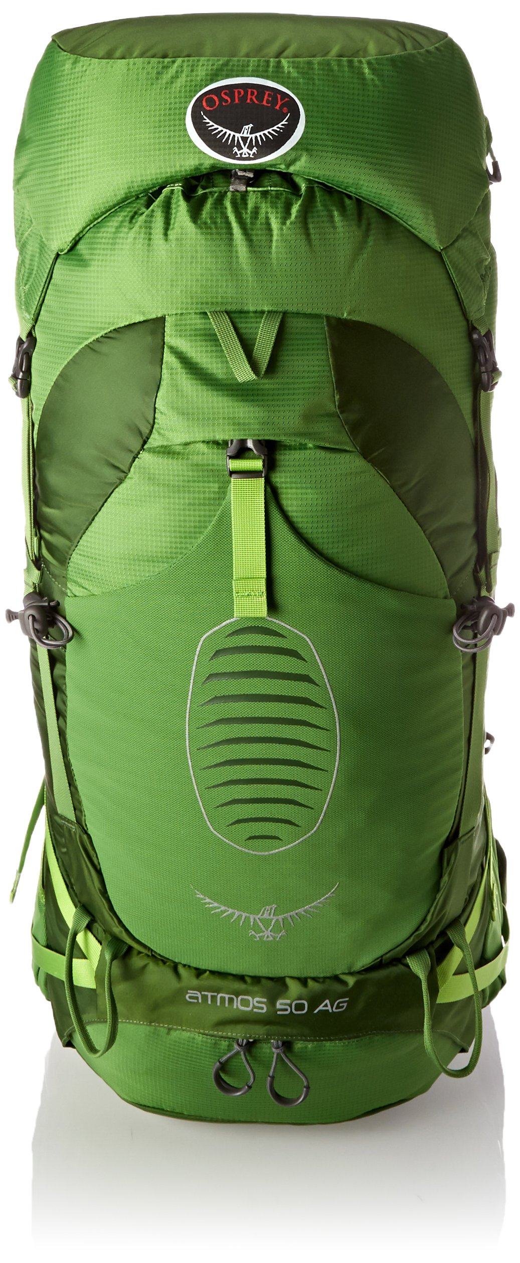 Osprey Men's Atmos AG 50 Backpack, Absinthe Green, Medium