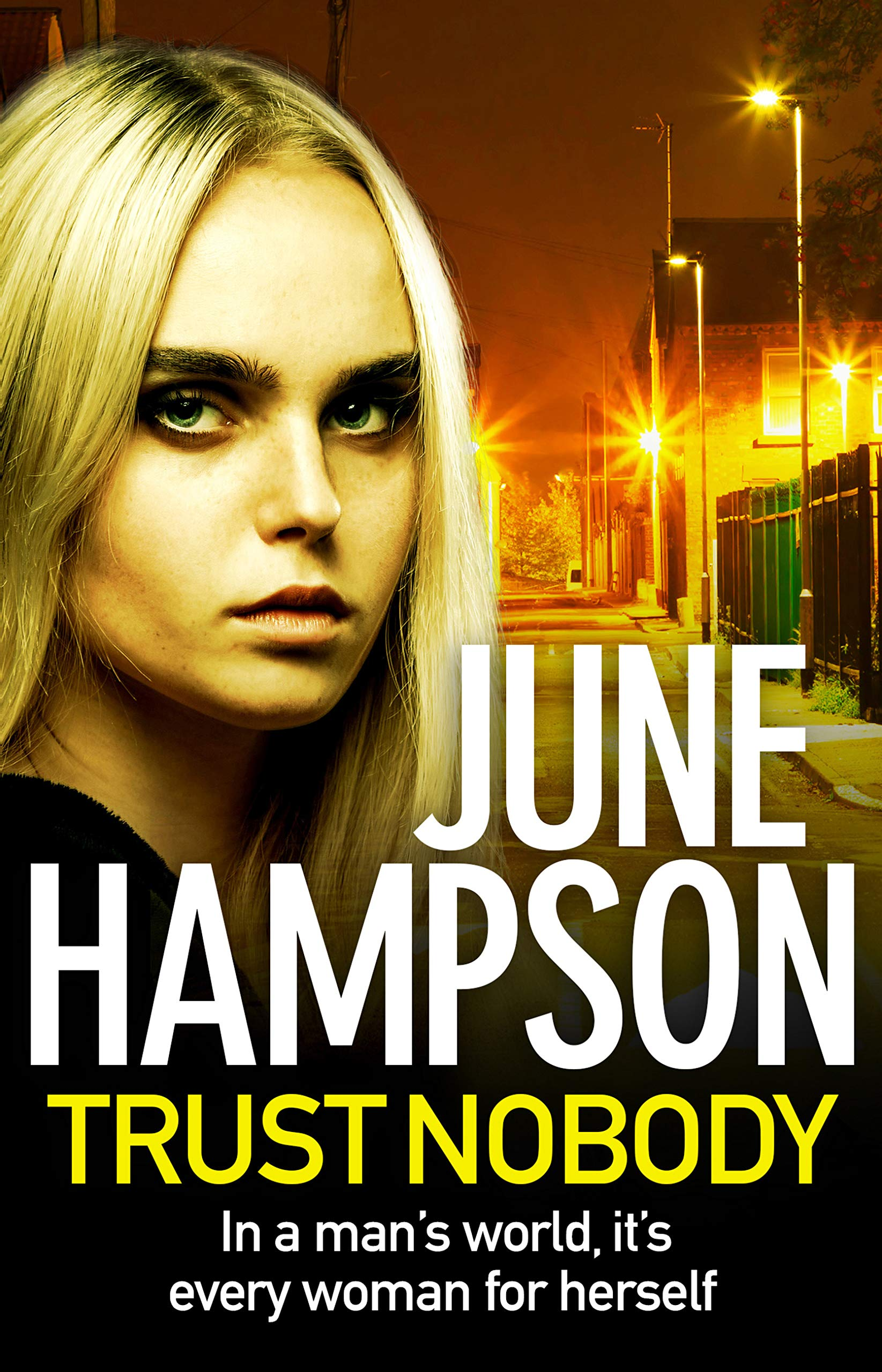 Trust Nobody: A gripping, twisty thriller from the queen of gritty crime fiction (Daisy Lane Book 1) por June Hampson