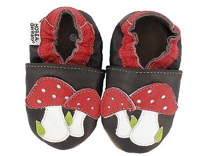 1e2bfff8be5e0 HOBEA-Germany Krabbelschuhe Pilze  Amazon.de  Schuhe   Handtaschen