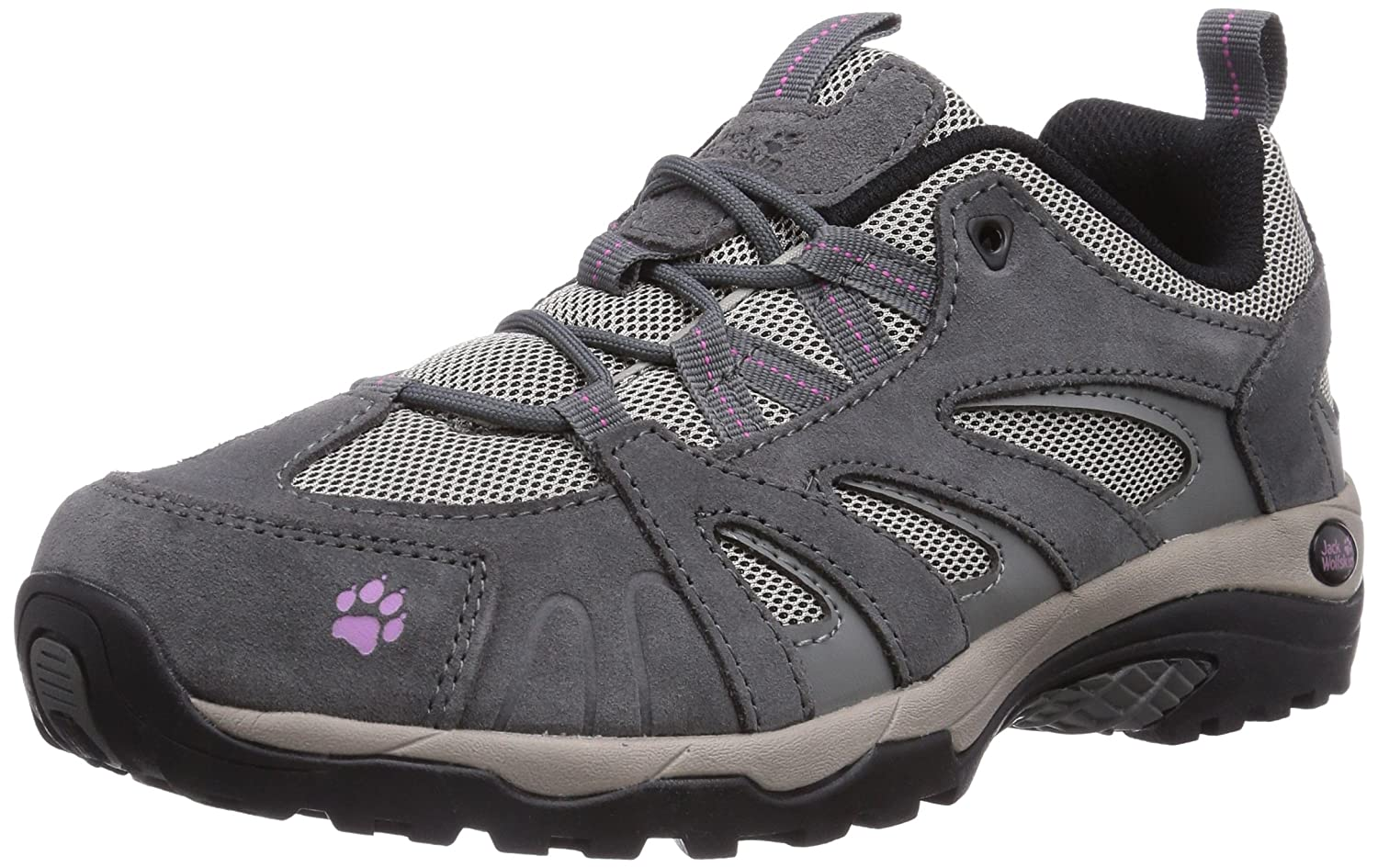 Jack Wolfskin Vojo Hike Low W, Baskets Basses Femme