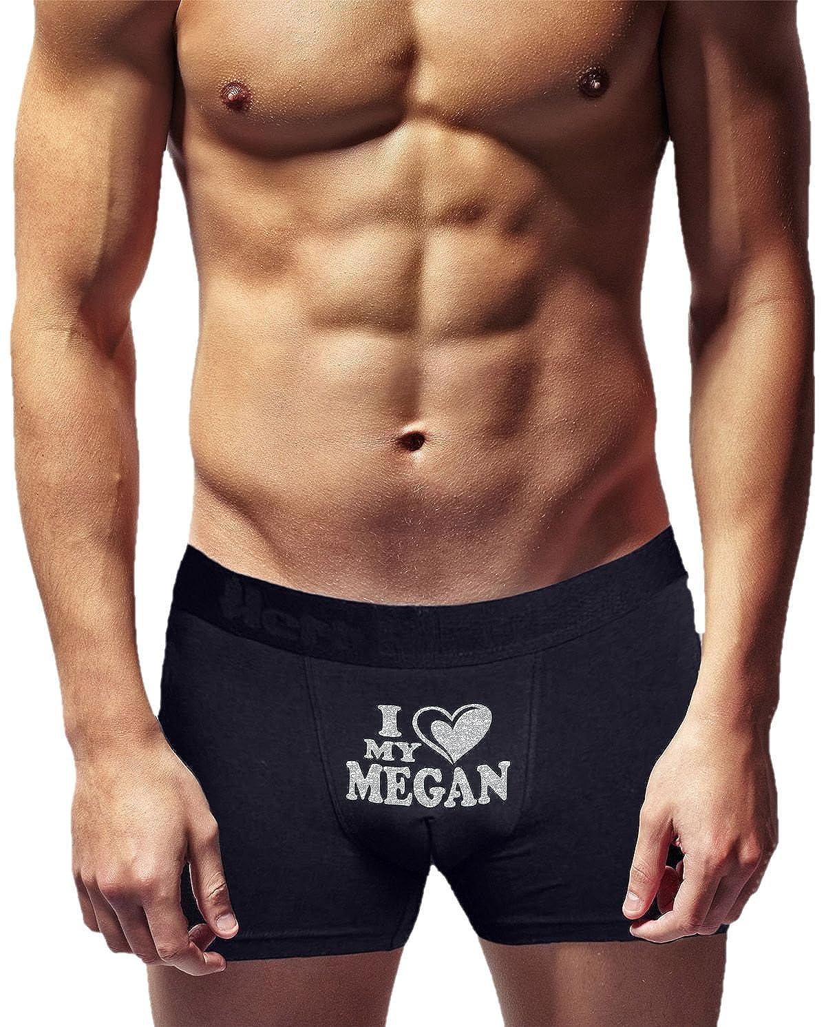 Novelty Item. Birthday Present I Love My Megan Innovative Gift Herr Plavkin Cool Boxer Briefs