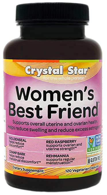 Crystal Star Women's Best Friend, 120 Vegetarian Capsules