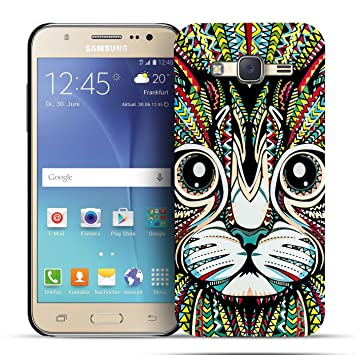 Animal Funda Para Samsung - Estampado Egipcio Gato, Samsung Galaxy J5: Amazon.es: Electrónica