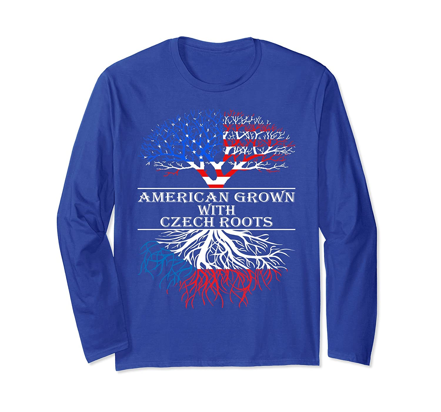 American Grown With Czech Roots Country Tshirt-ah my shirt one gift