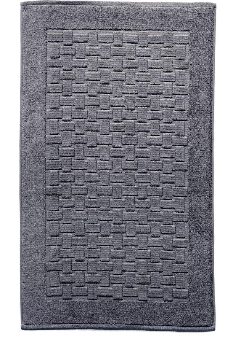 Casilin Ritz Tappeto di Bagno Cotone Pettinato Antracite 60x 60cm Ourson