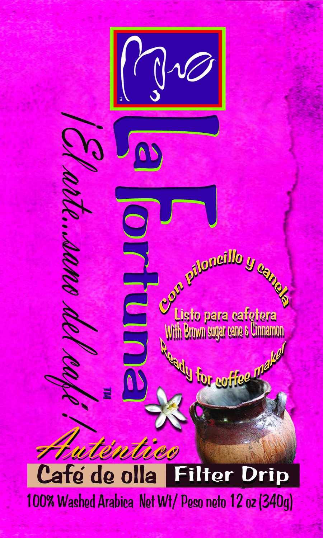 La Fortuna Cafe De Olla Ground Coffee