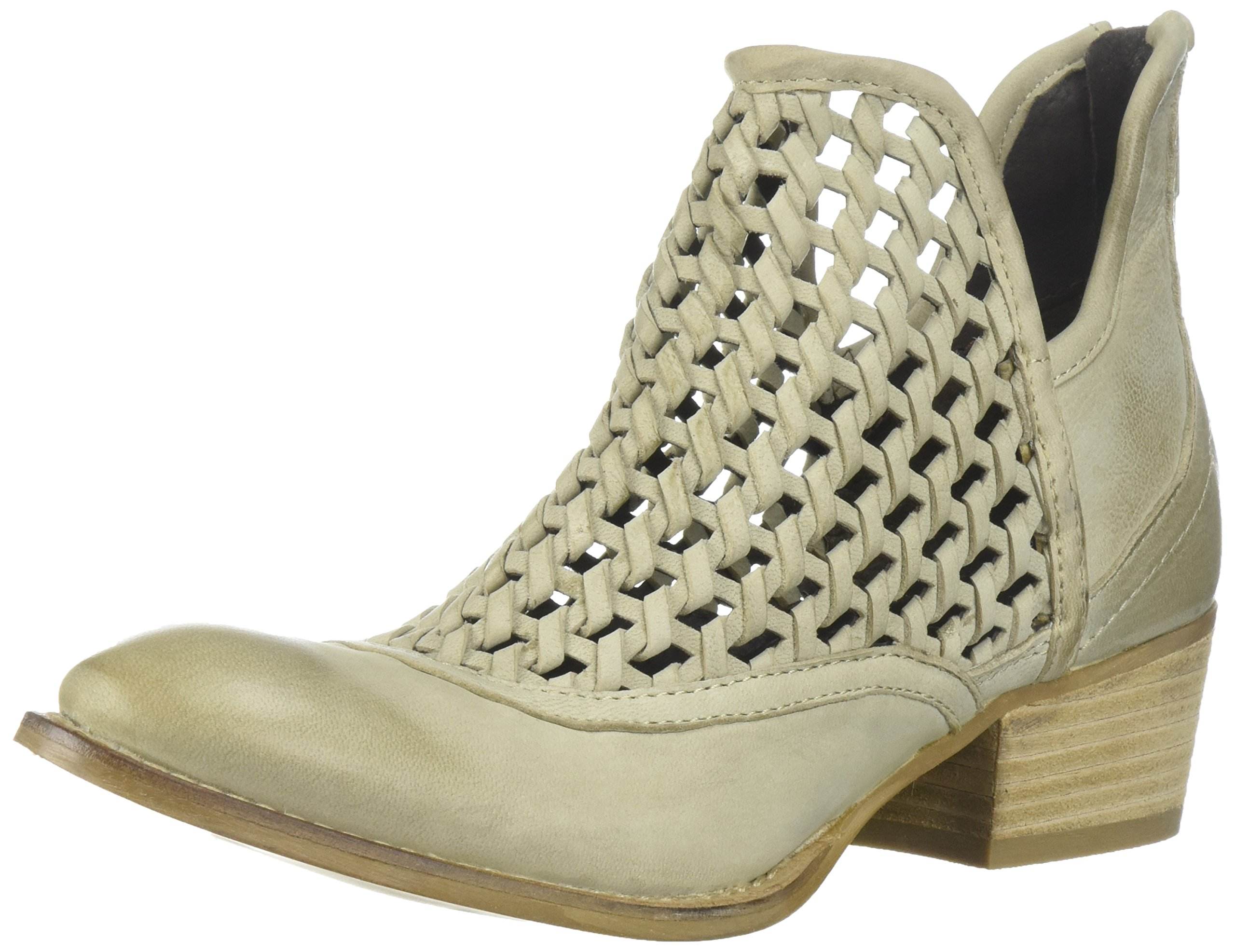 Very Volatile Women's Hudsun Ankle Boot, Stone, 8.5 B US