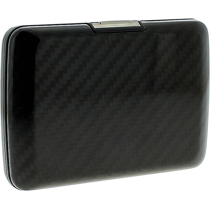 Ögon SV2-Carbon Tarjetero Stockholm V2 Wallet Fibra de Carbono Resistente al Agua Cerradura de Acero