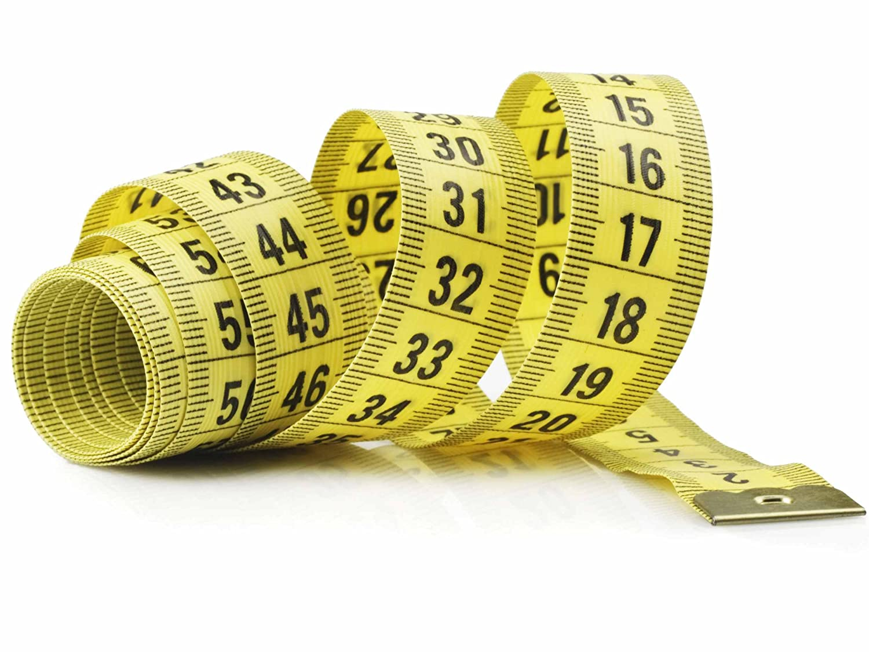 suave 152,4 cm 1,5 m 150 cm amarillo gamuza de fibra de vidrio plano TAILOR patrones de costura para cinta m/étrica de costura regla cuerpo Nuevo Horrizon