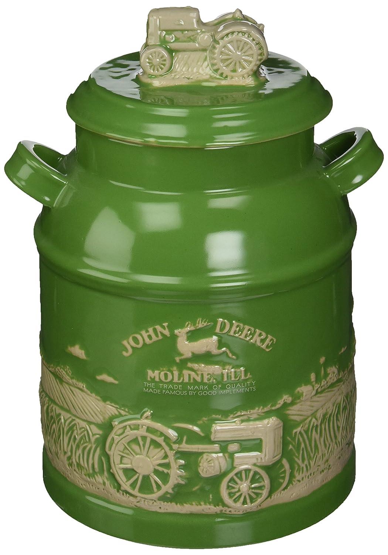 Cornell Gifts M. CORNELL Importers 6934 John Deere Milk Can Cookie Jar