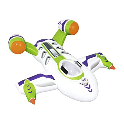 Bestway Wet Jet Rider Inflatable Pool Float   Sprays Water w/ Attached Water Pistol   Great Summer Toy for Kids Ages 3+: Toys & Games