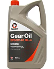 Comma GO45L 5L EP80W90 GL4 Gear Oil - Grey