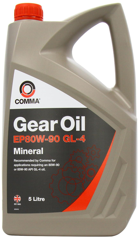 Comma GO45L 5L EP80W90 GL4 Gear Oil - Grey Comma Oil & Chemicals Ltd.