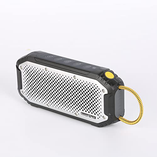 Boom Tech S17 Portable Wireless Bluetooth Speakers Waterproof IPX7, Built-in 4400 mAh Power Bank, 20W Bass Sound, Durable Design Backyard, Outdoors, Travel, Pool, Home Party