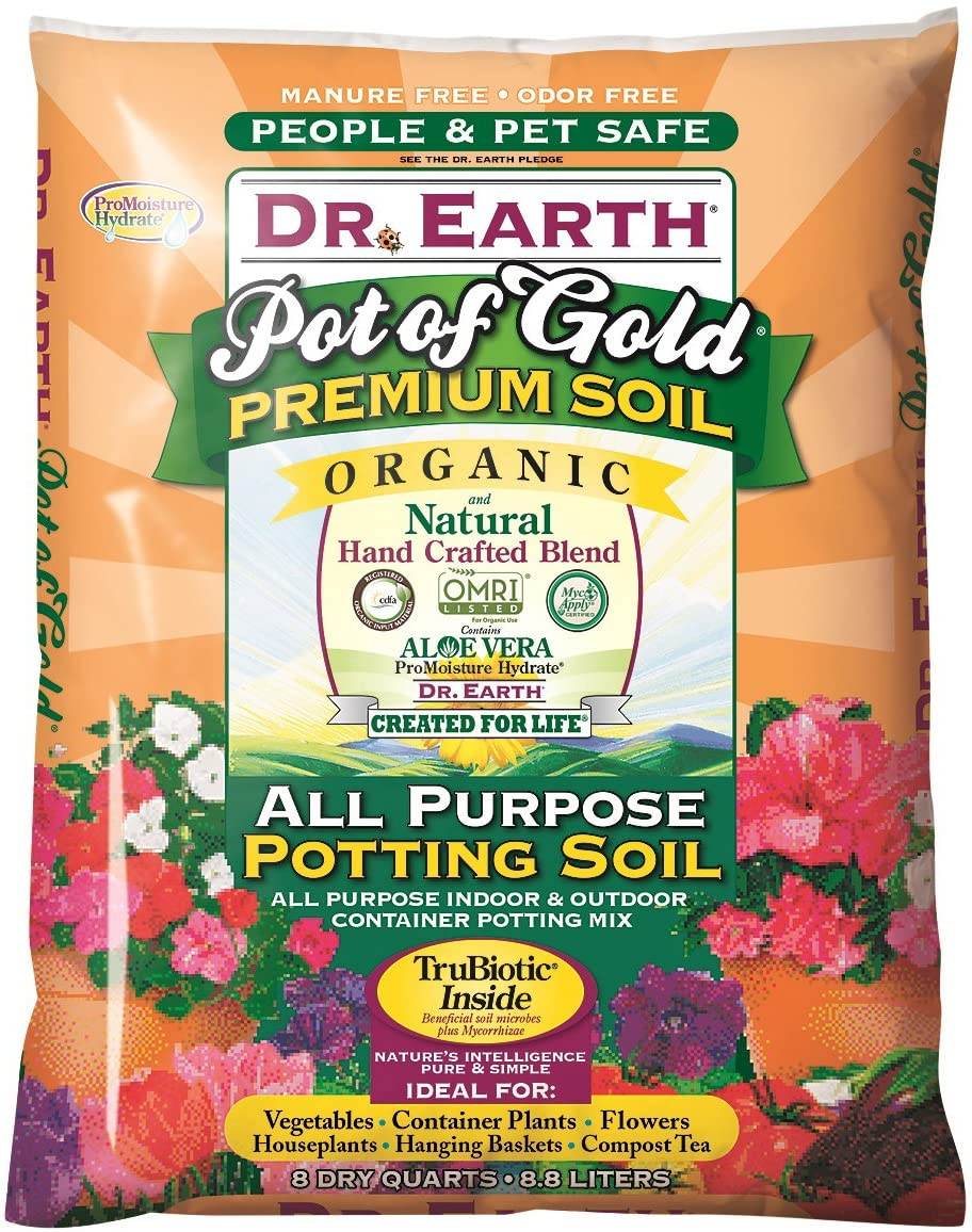 Dr. Earth Gold Premium Potting Soil