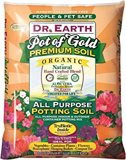 product image for Dr. Earth 749688008136 813 Gold Premium Potting Soil, 8 Quart