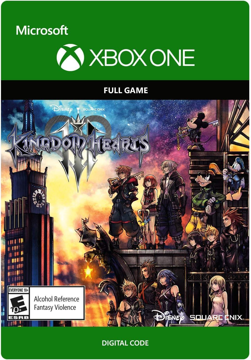 Amazon com: Kingdom Hearts III - Xbox One [Digital Code